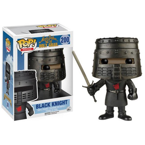 Monty Python and the Holy Grail Black Night Funko Pop! Figuur