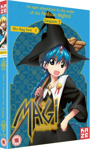 Magi The Kingdom of Magic - Season 2 Part 1