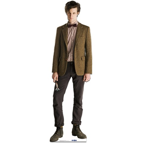 Doctor Who The 11th Doctor Matt Smith Cut Out