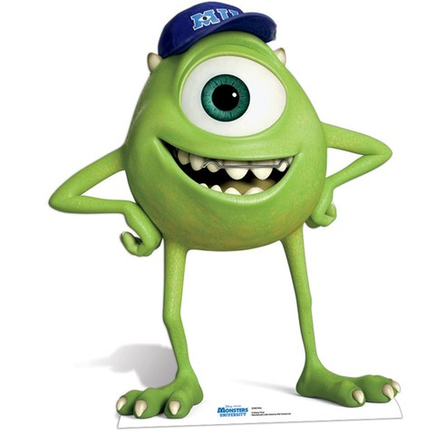 Disney Monsters University Mike Cut Out