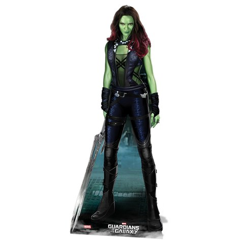 Marvel Guardians of the Galaxy Gamora Cut Out