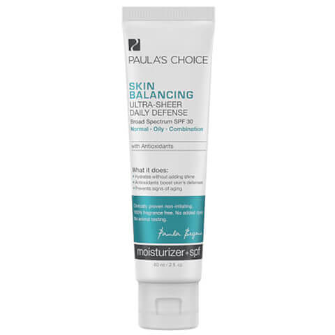 Paula's Choice Skin Balancing Ultra-Sheer Daily Defense SPF30 (60ml)