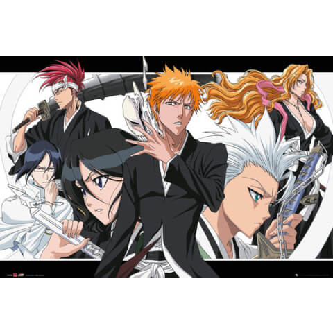 Bleach Collage Landscape - 24 x 36 Inches Maxi Poster