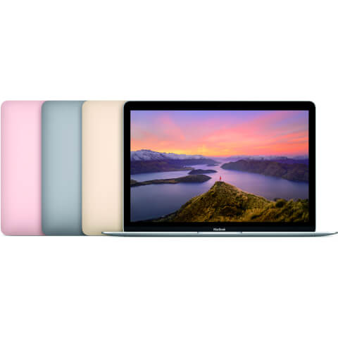 Apple MacBook 12-inch: 1.1GHz Dual-Core Intel Core M, 256GB