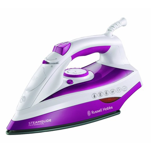 Russell Hobbs 19220 Steamglide Professional Steam Iron - White