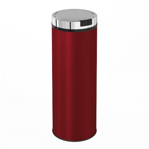 Morphy Richards 974140 Round Sensor Bin - Red - 50L