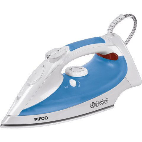 Pifco P22001B Steam Iron with Ceramic Sole Plate - Green