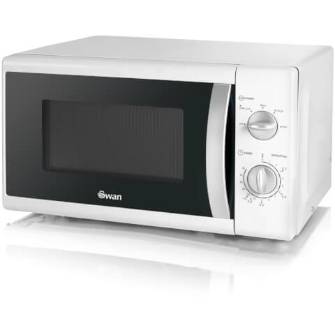 Swan SM40010N 800W Solo Microwave - White