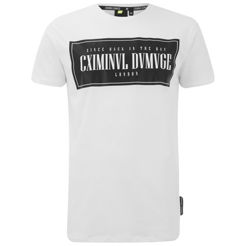 Criminal Damage Men's Since T-Shirt - White