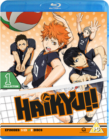 Haikyu!! Season 1 Collection 1 - Episode 1-13