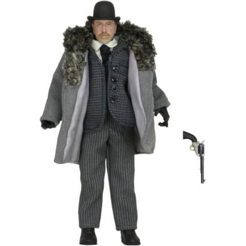 NECA The Hateful Eight Oswaldo Mobray 8 Inch Clothed Action Figure
