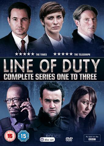 Line of Duty - Series 1-3 Box Set