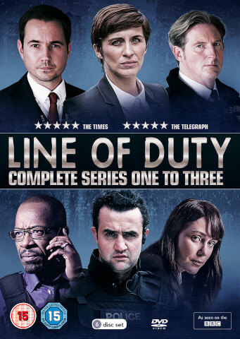 Line of Duty - Series 1-3 Box Set