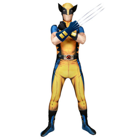Morphsuit Adults' Deluxe Zapper Marvel Wolverine