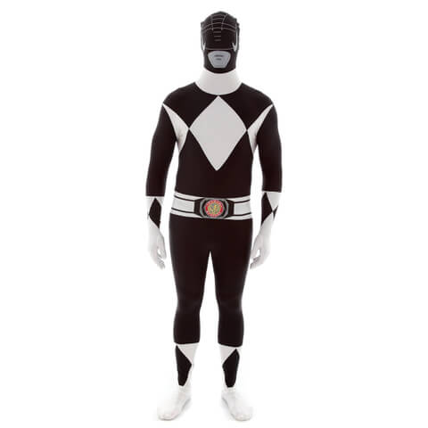 Morphsuit Adults Power Rangers Zwart