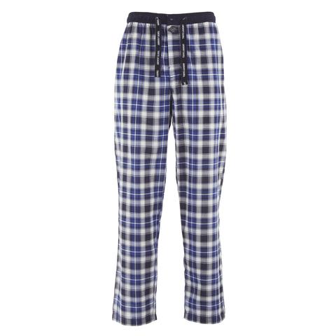 Tokyo Laundry Men's Richmond Check Lounge Pants - Olympian Blue