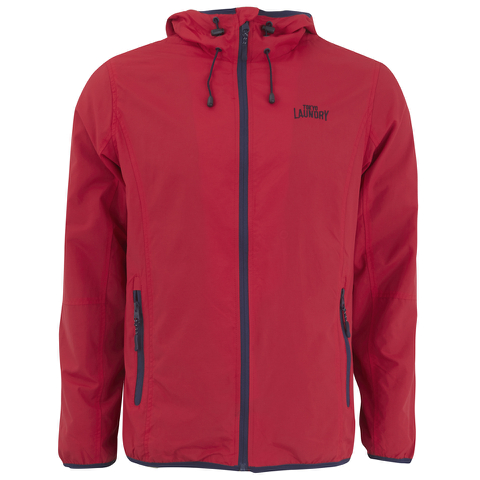 Tokyo Laundry Men's Karakoran Hooded Jacket - Firebrick Red