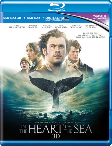 In The Heart Of The Sea 3D (Includes UltraViolet Copy)
