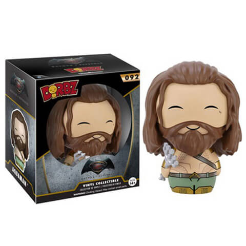 DC Comics Batman v Superman Dawn of Justice Aquaman Dorbz Vinyl Figur