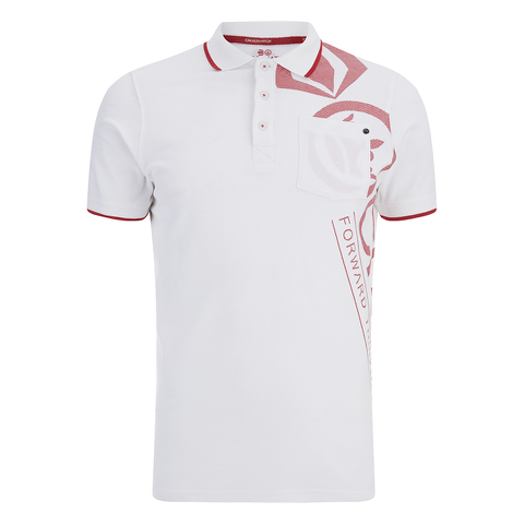 Crosshatch Men's Pacific Polo Shirt - White