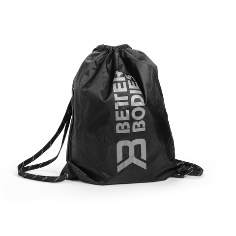 Better Bodies String Bag - Black/Grey