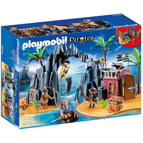 Playmobil Piraten-Schatzinsel (6679)