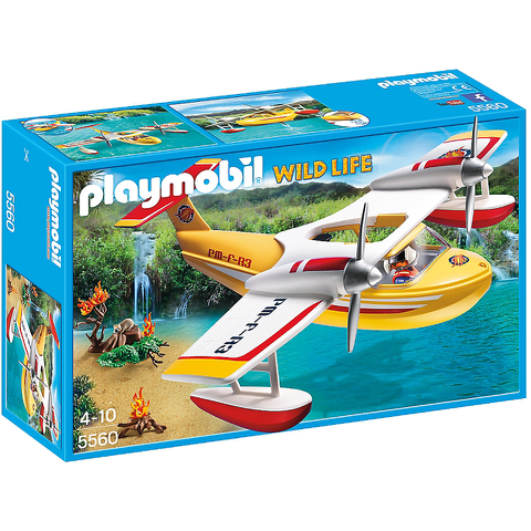 Playmobil Wild Life Firefighting Seaplane (5560)