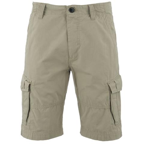 Threadbare Men's Hulk Cargo Shorts - Stone
