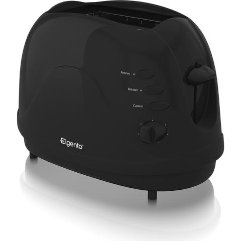 Elgento E20012B 2 Slice Toaster - Black