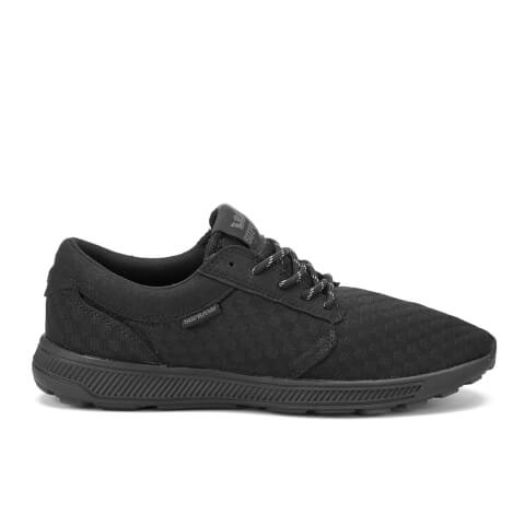Supra Men's Hammer Run Woven Mesh Trainers - Black/Black