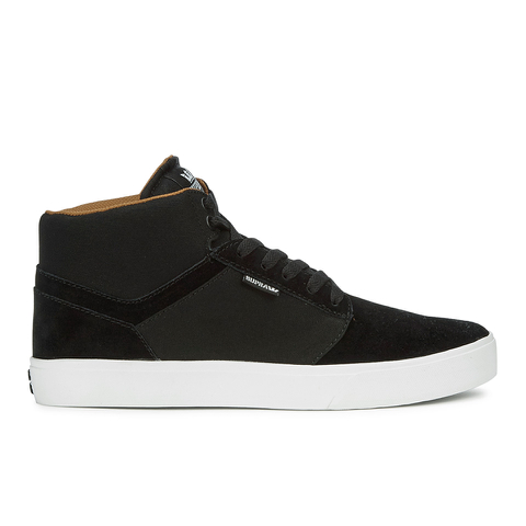 Supra Men's Yorek High Top Trainers - Black/White