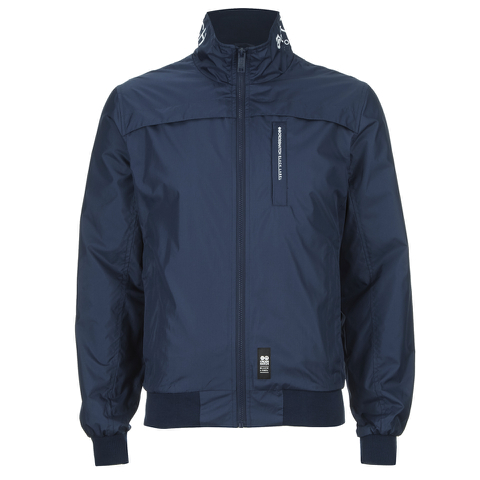 Crosshatch Men's Brimon Windbreaker Jacket - Iris Navy