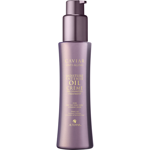 Alterna Caviar Moisture Intense Oil Crème Pre-Shampoo Treatment 4.2 oz