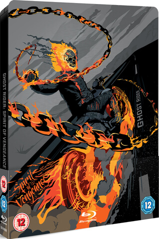 Ghost Rider: Spirit of Vengeance - Zavvi Exclusive Limited Edition Steelbook