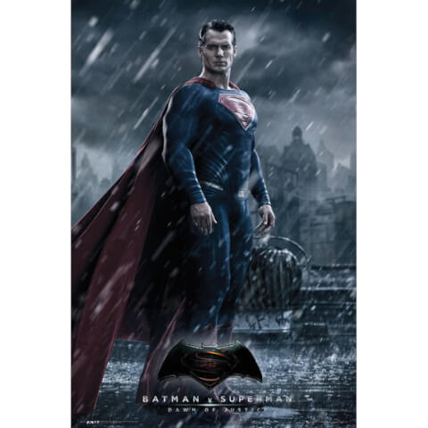 DC Comics Batman v Superman Dawn of Justice Superman - 24 x 36 Inches Maxi Poster