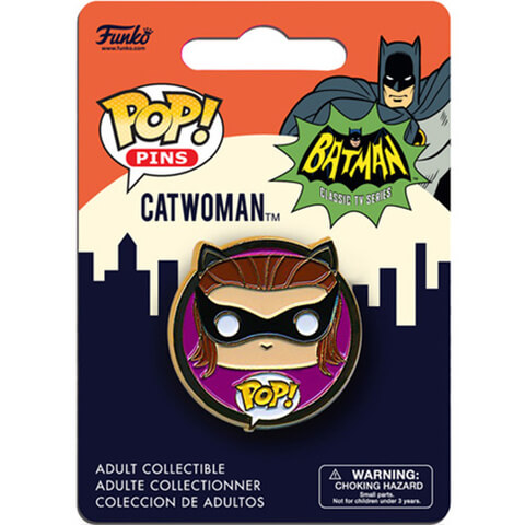 DC Comics Batman Classic 1966 Catwoman Pop! Pin