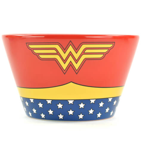 DC Comics Wonder Woman Costume Bowl
