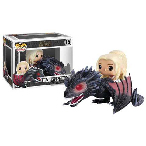 Game of Thrones Drogon Pop! Vinyl Vehicle with Daenerys Figure