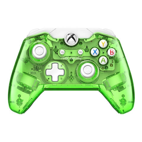 Rock Candy Wired Xbox One Controller - Green