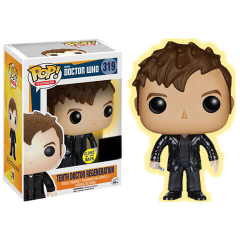 Doctor Who 10th Doctor Regeneration Funko Pop! Figur