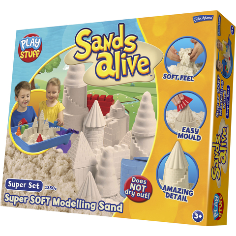 John Adams Sands Alive Giant Playset