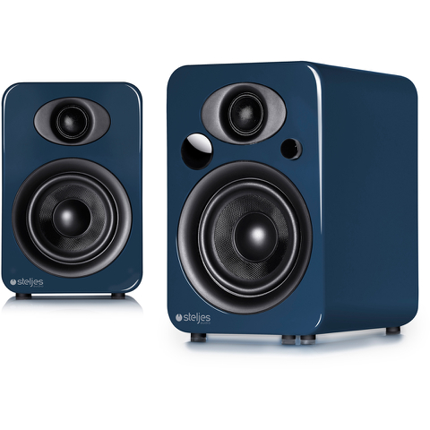 Steljes Audio NS3  Bluetooth Duo Speakers  - Artisan Blue