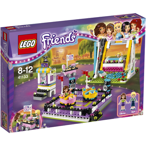 LEGO Friends: Les auto-tamponneuses du parc d'attractions (41133)