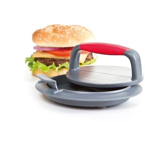 Progressive Perfect Burger Press - Grey/Red