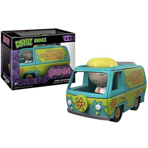 Scooby-Doo Mystery Machine Dorbz Ridez with Fred Vinyl Figur