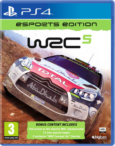 WRC 5: World Rally Championship Esports Edition