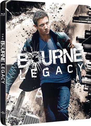 Jason Bourne : L'Héritage - Steelbook Exclusivité Zavvi