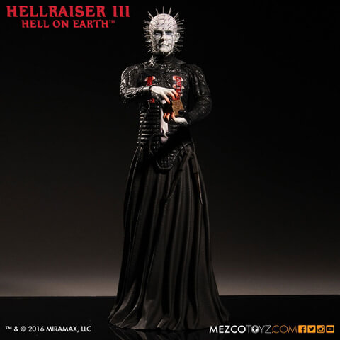 Mezco Hellraiser Pinhead 12 Inch Statue