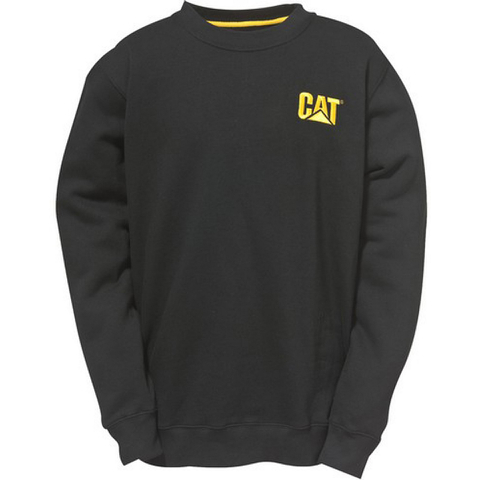 Caterpillar Men's Trademark Crew Sweatshirt - Black