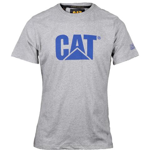 Caterpillar Men's Logo T-Shirt - Grey